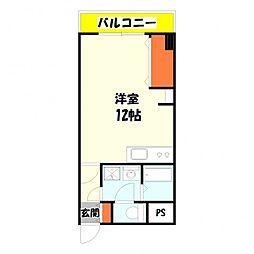 竹の塚ロジュマン[4階]の間取り