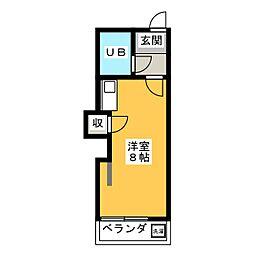 藤屋ビル[2階]の間取り