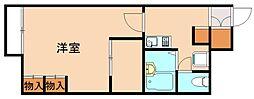 レオパレスさくらハイツ[1階]の間取り