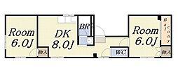 ハイツ255[3階]の間取り