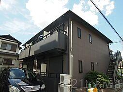 ドミール朝志ヶ丘[1階]の外観