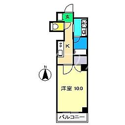 CLASS・Y[4階]の間取り