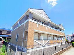埼玉県所沢市西住吉の賃貸アパートの外観