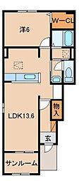 JR紀勢本線 紀伊内原駅 徒歩12分の賃貸アパート