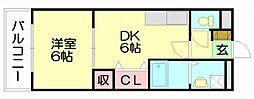 ストロベリーガーデン[2階]の間取り