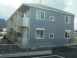 広島県三原市皆実6丁目の賃貸アパートの外観