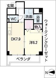 シャルム・八田[3階]の間取り