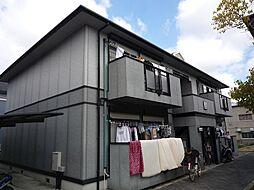大阪府高槻市大塚町2丁目の賃貸アパートの外観