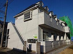 東京都日野市東平山2丁目の賃貸アパートの外観