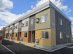 JR学園都市線 百合が原駅 徒歩8分の賃貸アパート