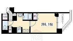 プレサンス京都五条大橋レジェンド[3階]の間取り