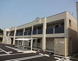 福岡県飯塚市下三緒の賃貸アパートの外観