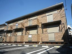 大阪府羽曳野市南恵我之荘1丁目の賃貸アパートの外観