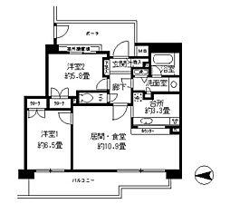 パーク・ハイム神戸熊内町[1階]の間取り