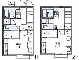 RITZ−II[1階]の間取り