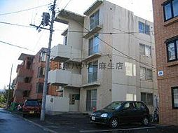 北海道札幌市北区北二十七条西6丁目の賃貸マンションの外観
