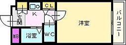 エスポワール新金岡[2階]の間取り