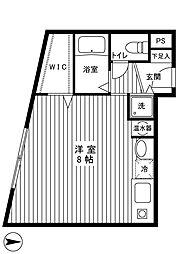 エクセラン武蔵関[3階]の間取り