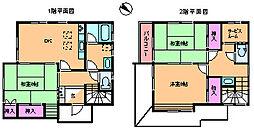 [一戸建] 東京都北区十条仲原4丁目 の賃貸【東京都 / 北区】の間取り