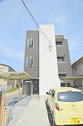 広島県安芸郡府中町鹿籠1丁目の賃貸アパートの外観