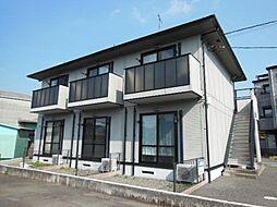 静岡県富士市荒田島の賃貸アパートの外観