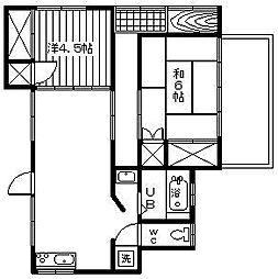 [一戸建] 宮崎県延岡市土々呂町1丁目 の賃貸【/】の間取り