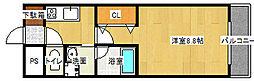 ルミエール21[207号室号室]の間取り