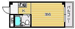 宮元2番館[3階]の間取り