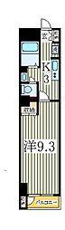カネキン第二ビル[3階]の間取り