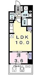 サンプラザ茨木[5階]の間取り