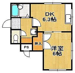 コンティニューI[1階]の間取り