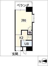 レスパス千種[11階]の間取り