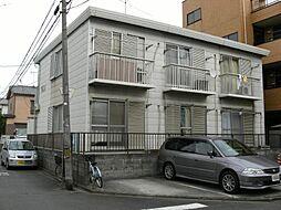 埼玉県川口市朝日5丁目の賃貸アパートの外観