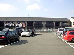 京都府京都市山科区音羽稲芝の賃貸アパートの外観