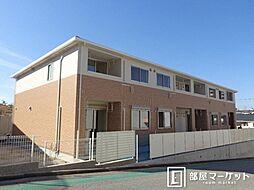 愛知県岡崎市戸崎町の賃貸アパートの外観
