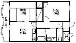新潟県新潟市西区ときめき西3丁目の賃貸マンションの間取り