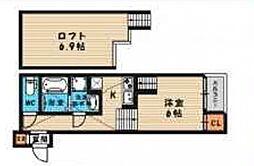 (仮称)旭区今市一丁目・SKHコーポA棟[102号室号室]の間取り