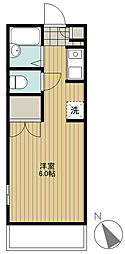 クレセントマンション[101号室]の間取り