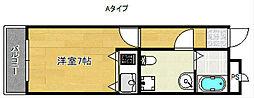 AVANZAR[4階]の間取り