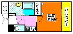 カンター・ビレ 103号室[1階]の間取り