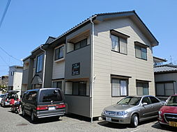 新潟県新潟市西区真砂2丁目の賃貸アパートの外観