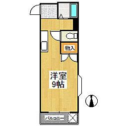オアシスビル[2階]の間取り