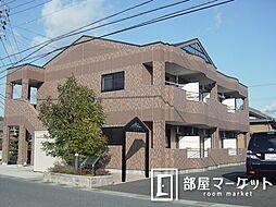 愛知県豊田市東保見町大門の賃貸アパートの外観