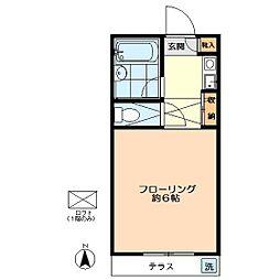 メゾン・ド・松庵[103号室]の間取り