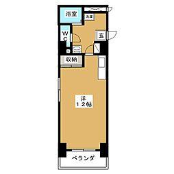 メゾン春岡[2階]の間取り
