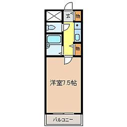 ビラ・アモーレ[2階]の間取り