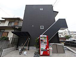 愛知県名古屋市中村区高道町1丁目の賃貸アパートの外観