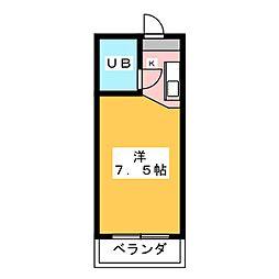ラトゥール御替地[1階]の間取り