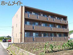 岐阜県美濃加茂市下米田町今の賃貸アパートの外観