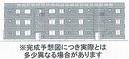 セカンドコート A棟[3階]の外観